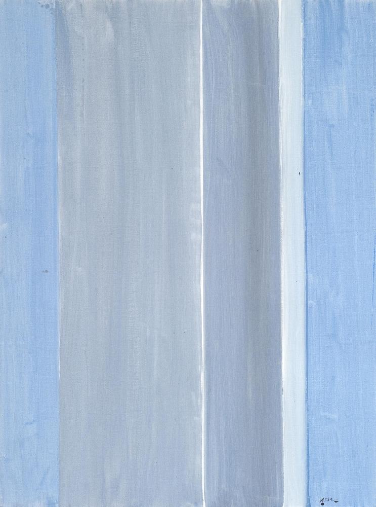Sans titre (bleu gris), 2014