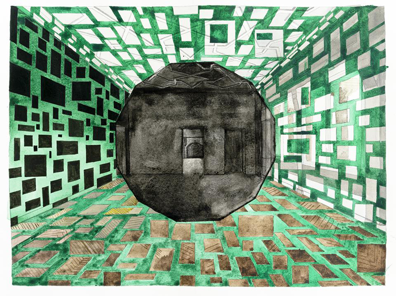 Polygones, Georges Rousse